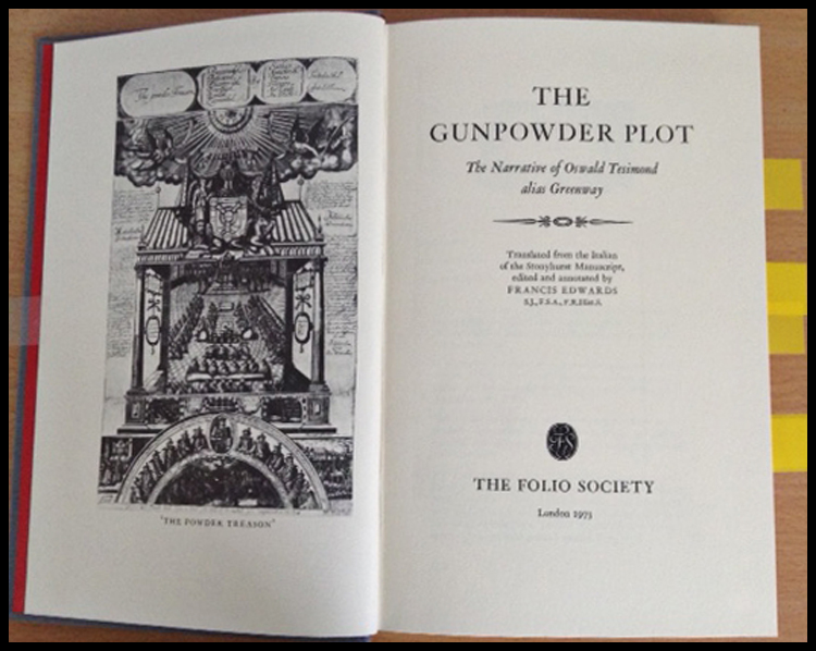 BH Cover Gunpowder Plot