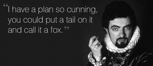 BH cunning plan fox
