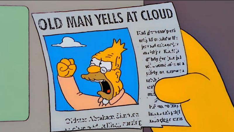 BH old man yells at cloud
