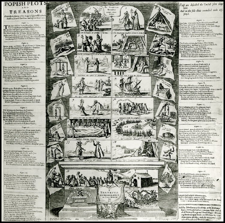 BH popish plots and treasons