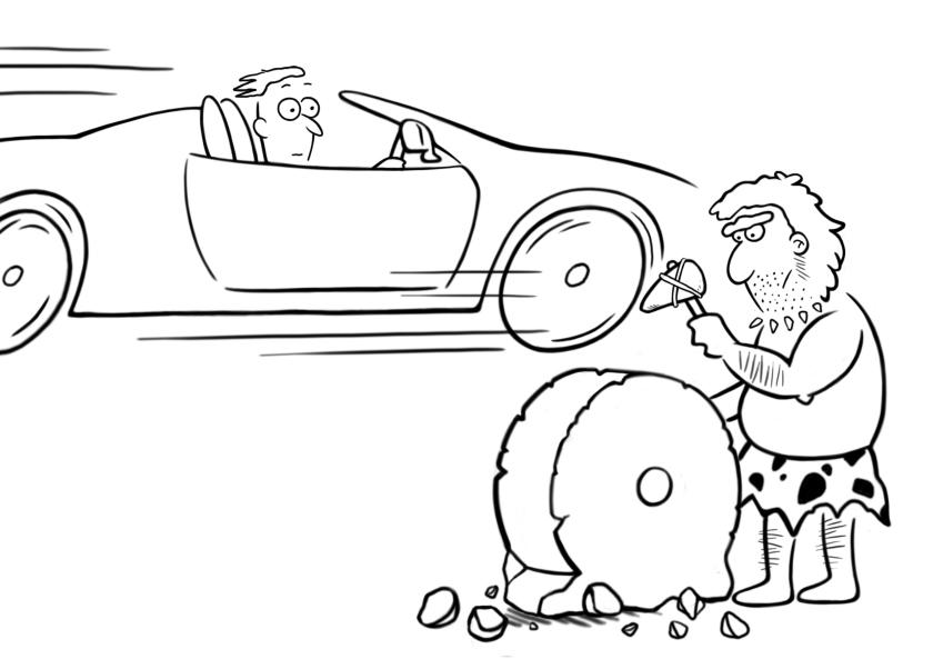 BH car and wheel