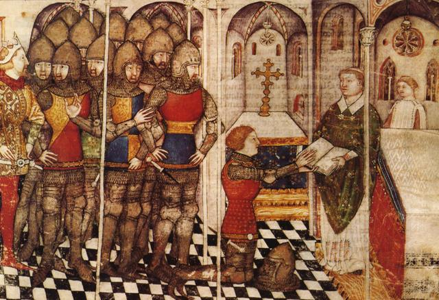 dubbing-the-knight-14th-century-miniature1