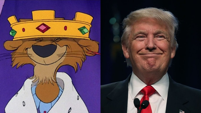 king john donald trump