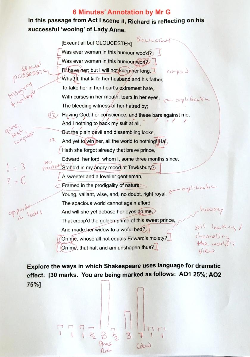 RIII I ii annotations