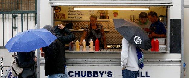 chubbys burger van