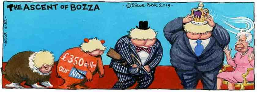 evolution of Boris Steve Bell